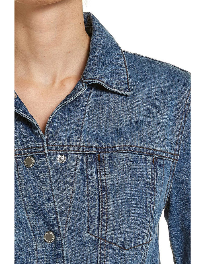 Denim Trucker Jacket image 4