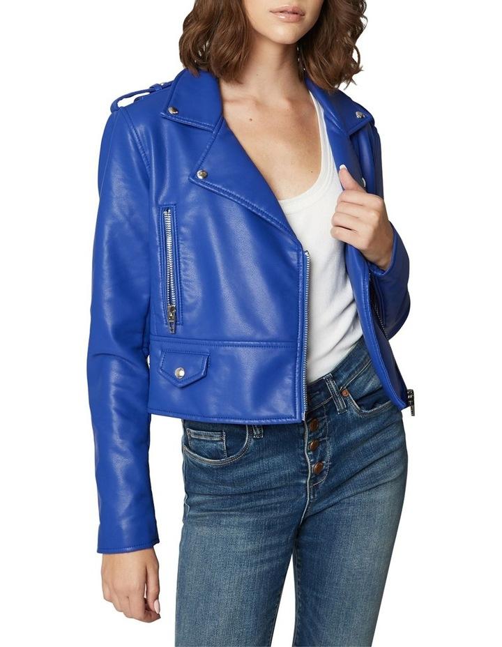 Blue My Mind Cropped Jacket image 1