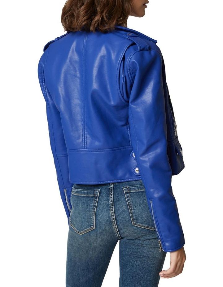 Blue My Mind Cropped Jacket image 2