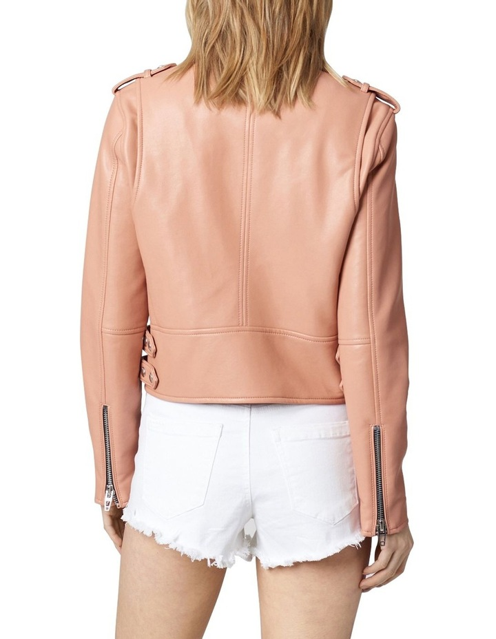 Dusty Coral Cropped Jacket image 2
