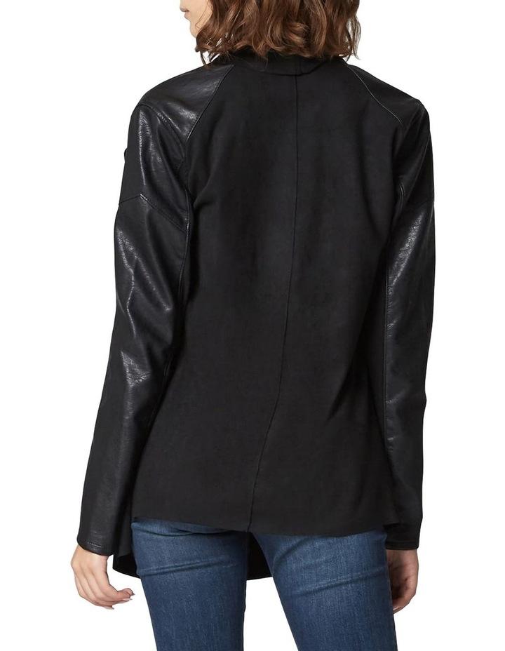 Ink Drape Front Jacket image 2