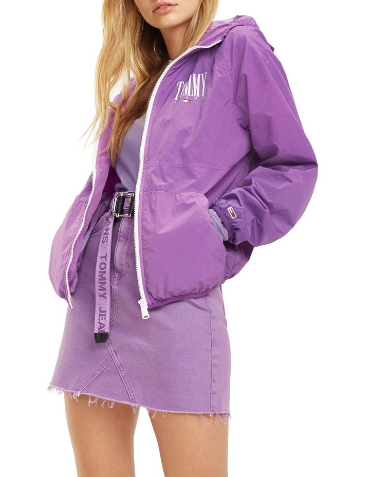 Hooded Contrast Zip Jacket image 1