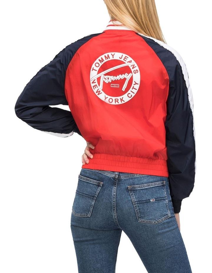 Sporty Logo Bomber image 2
