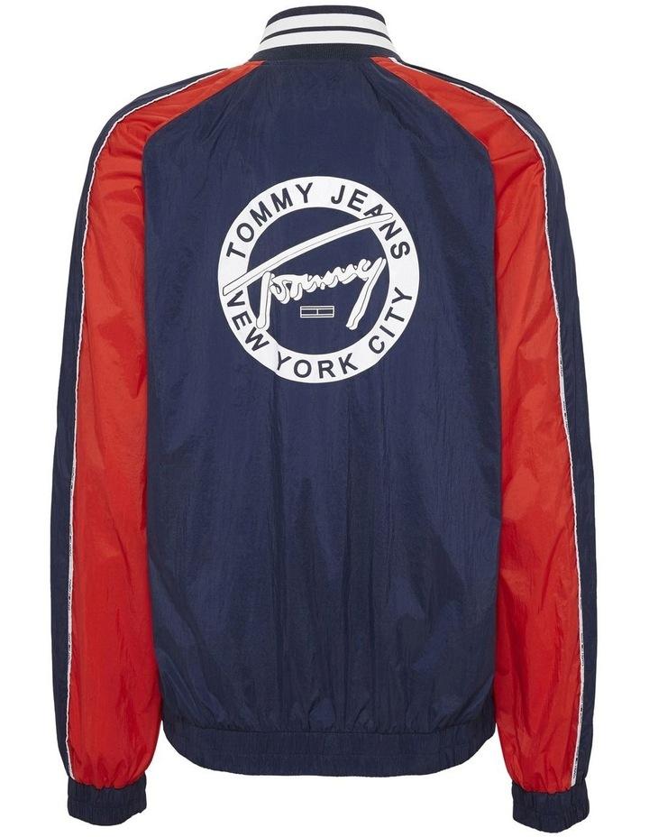 Sporty Logo Bomber image 5