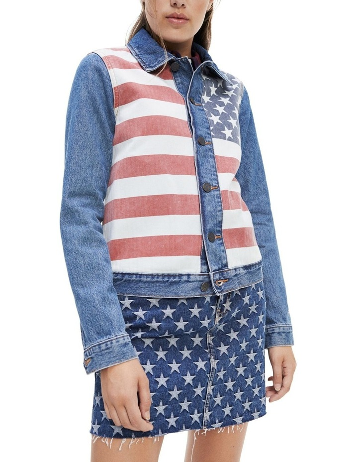 Stars And Stripes Trucker Jacket image 1