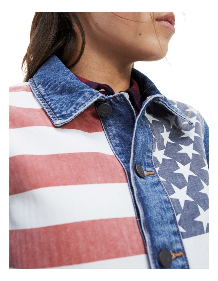 Stars And Stripes Trucker Jacket image 4