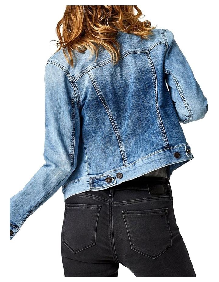 Samantha Crop Denim Jacket image 1