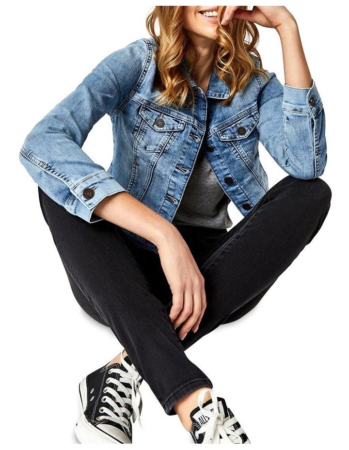 Samantha Crop Denim Jacket image 4