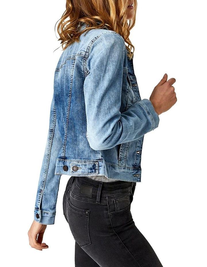 Samantha Crop Denim Jacket image 6