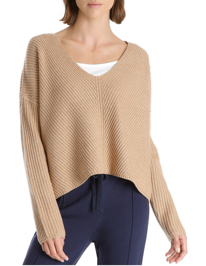 Camile V Neck Knit image 1