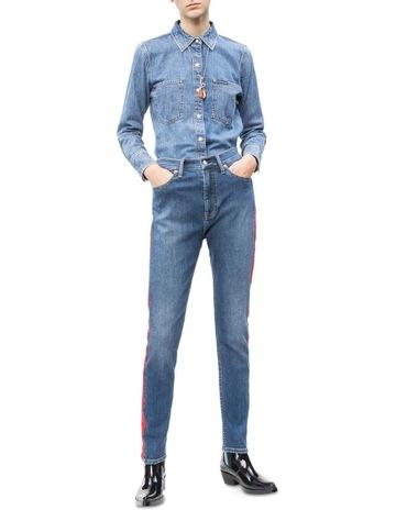2e902793ef493 Calvin Klein JeansLong Sleeve Utility Omega Shirt. Calvin Klein Jeans Long  Sleeve Utility Omega Shirt