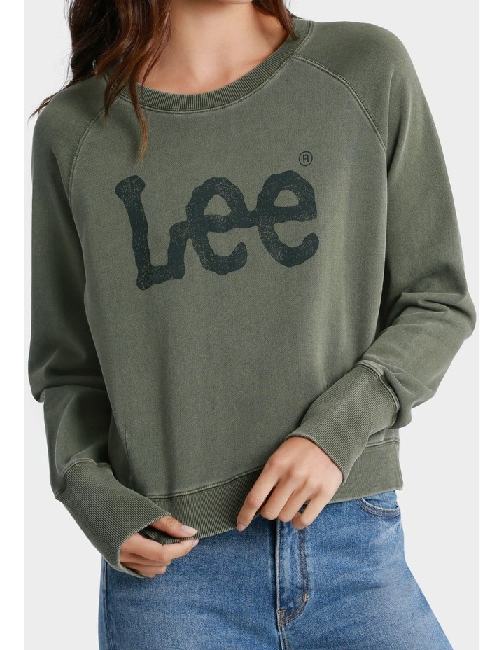 Dart Out Crew Sweater image 1