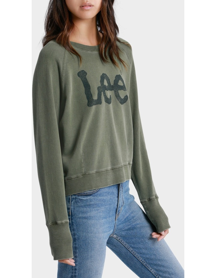 Dart Out Crew Sweater image 2