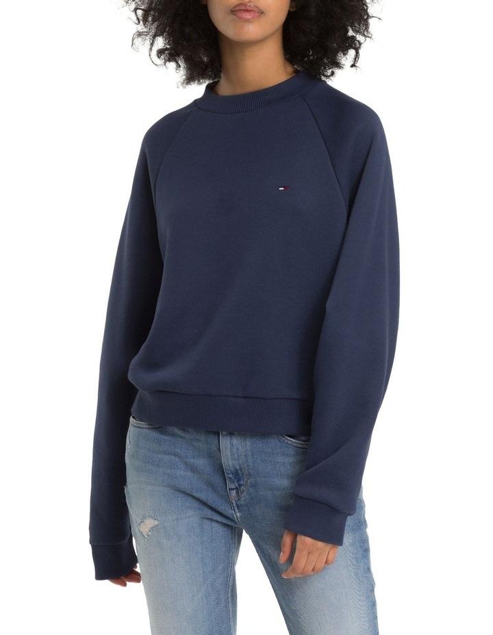 Comfort Fit Raglan Sweatshirt image 1