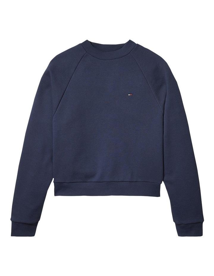 Comfort Fit Raglan Sweatshirt image 3