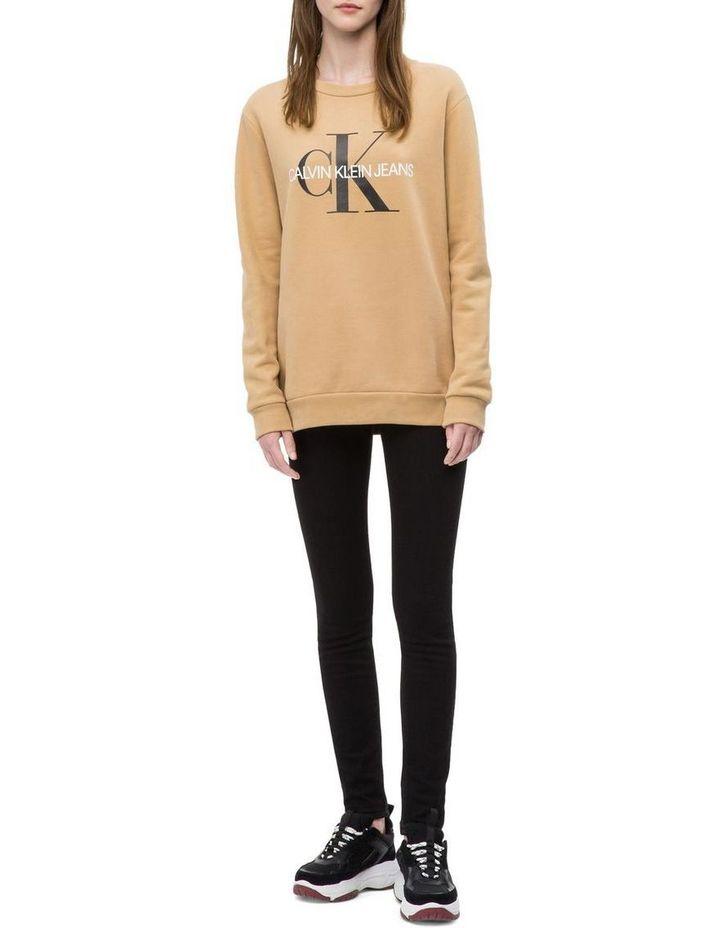 917df51323d03 Calvin Klein Jeans Monogram Logo Sweatshirt image 1