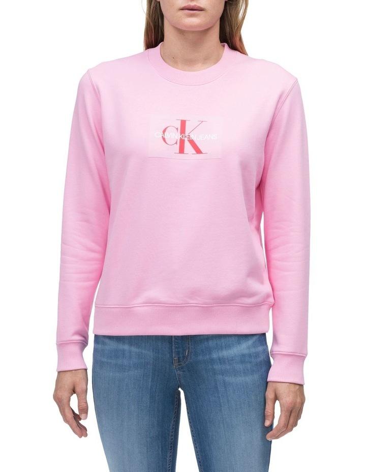 a313e015512e Calvin Klein Jeans | Monogram Flock Box Logo Reg Cn | MYER