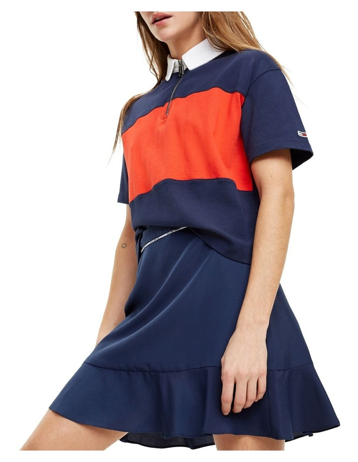 Colour-Blocked Relaxed Fit Polo image 1