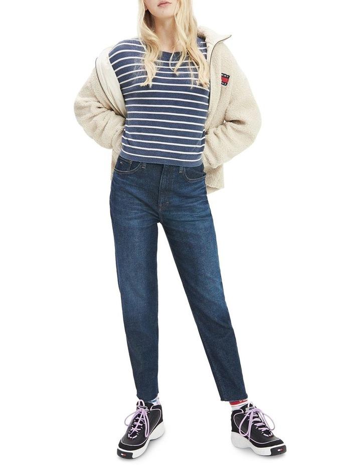 Stripe Cropped Fit Jumper image 3