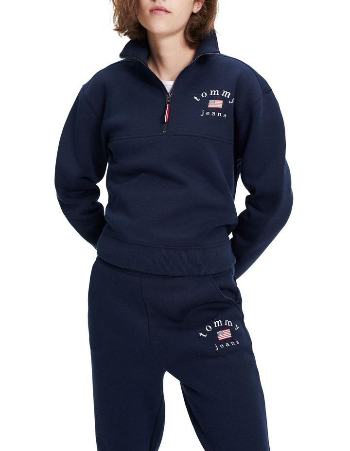 Half-Zip Sweatshirt image 1