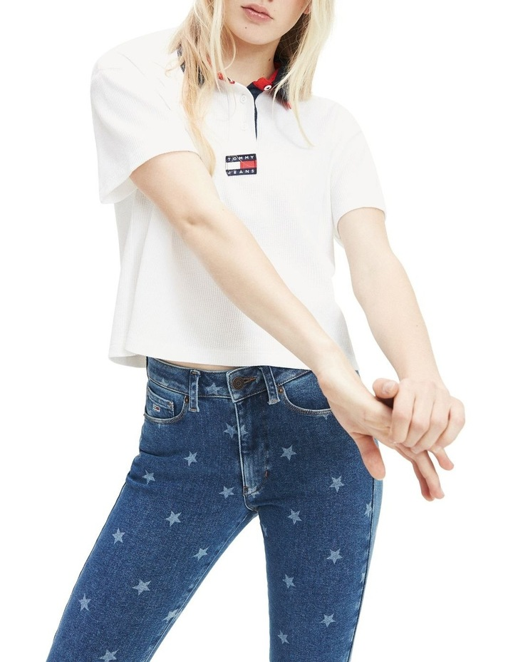 Cropped Fit Badge Polo image 1