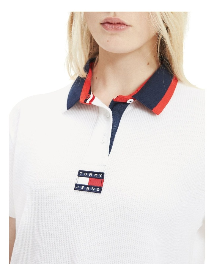 Cropped Fit Badge Polo image 2