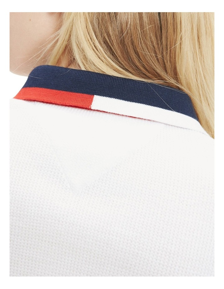 Cropped Fit Badge Polo image 5