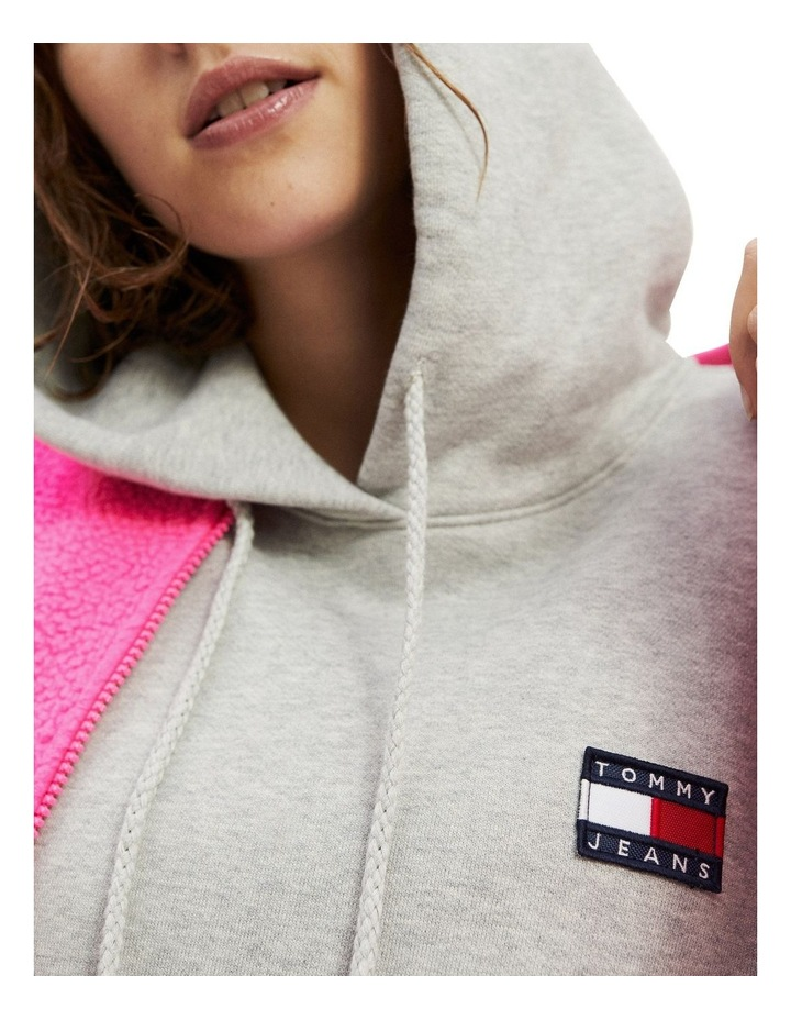 Tommy Badge Relaxed Fit Hoodie image 4