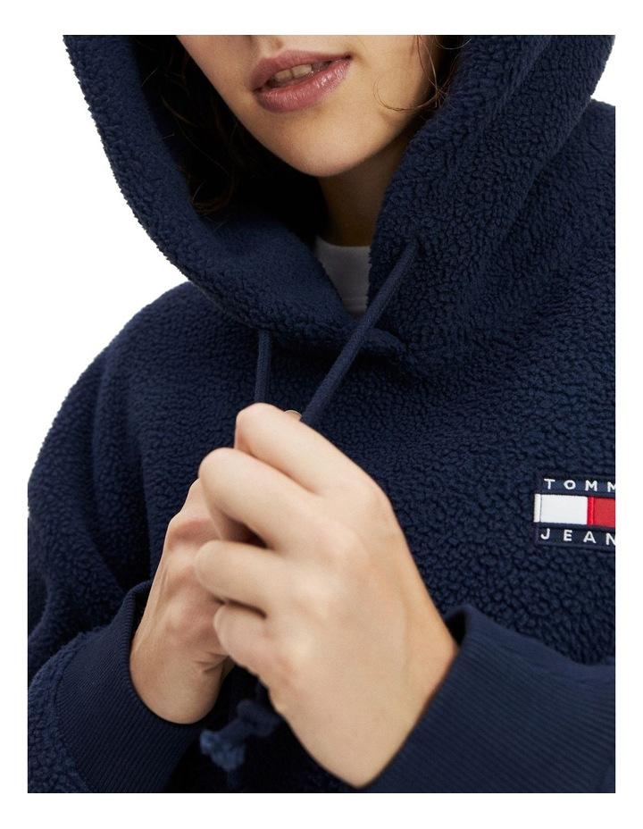 Tommy Badge Polar Fleece Hoodie image 1