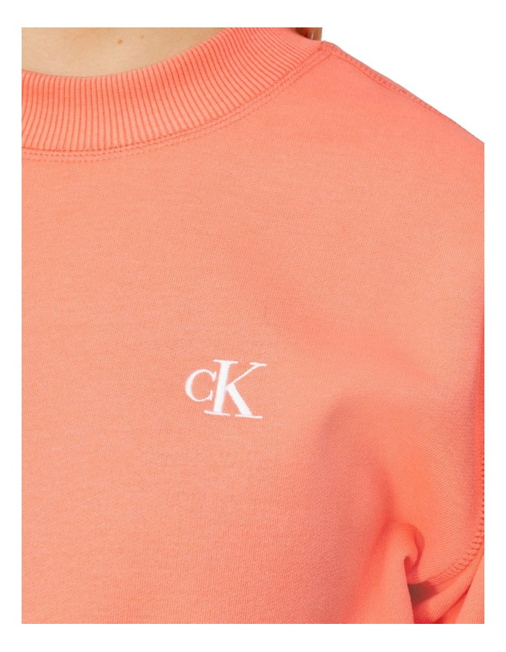 Ck Embroidery Regular Crew Neck image 4