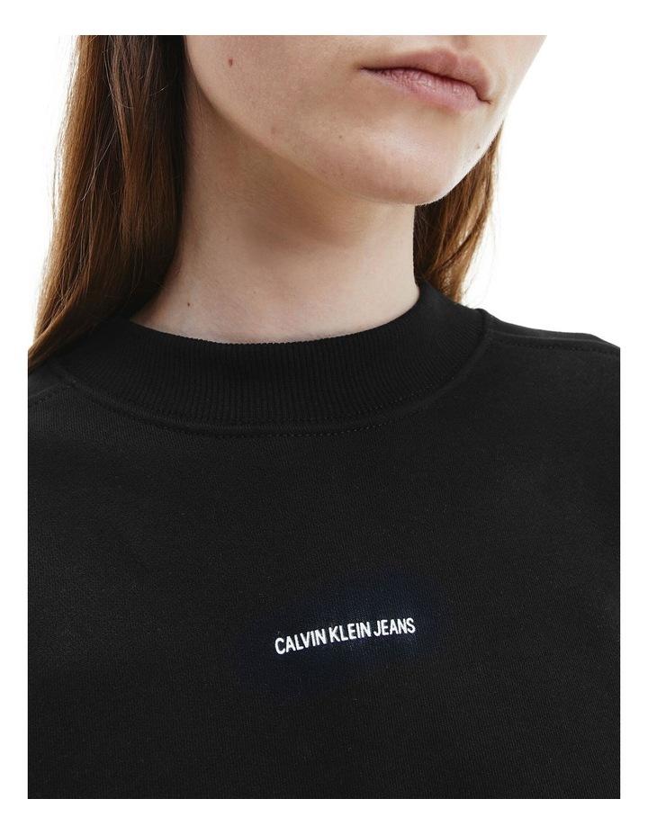 Unisex Micro Branding Crew Neck Sweat image 3