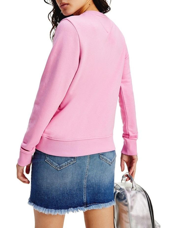 Tjw Regular Essential Logo Pink Daisy Sweatshirt image 2