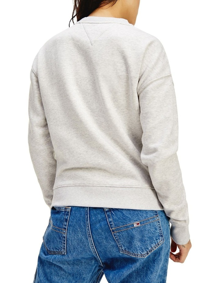 Timeless Relax Grey Marle Crew Sweat Top image 2