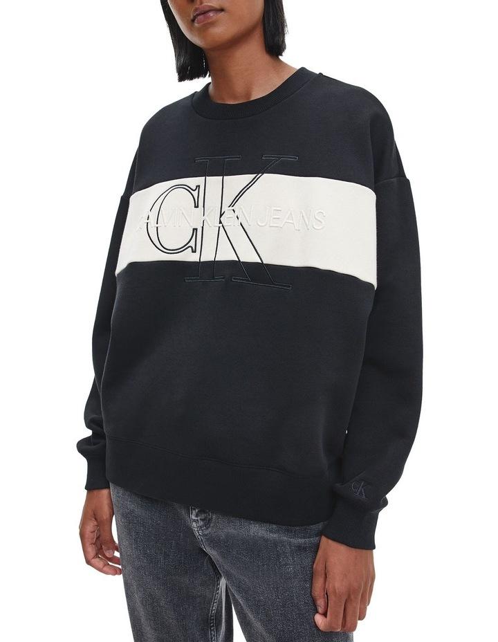 Monogram Blocking Sweatshirt image 1