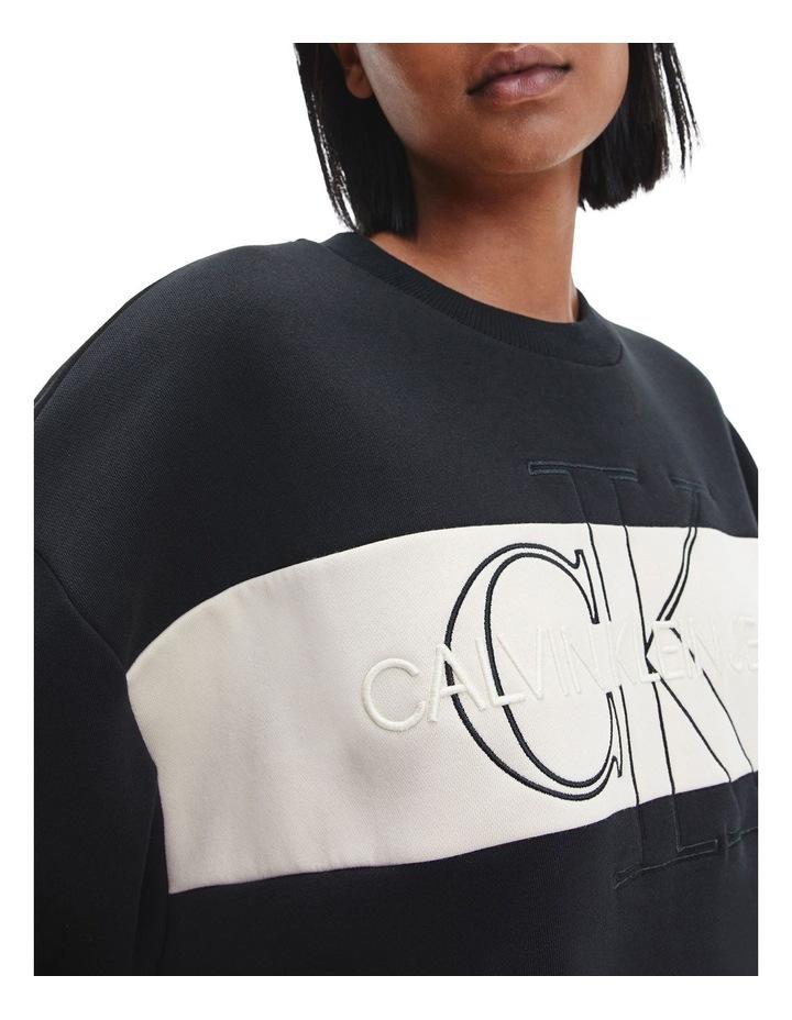 Monogram Blocking Sweatshirt image 3