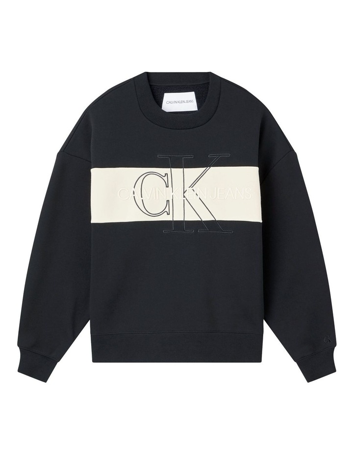 Monogram Blocking Sweatshirt image 5