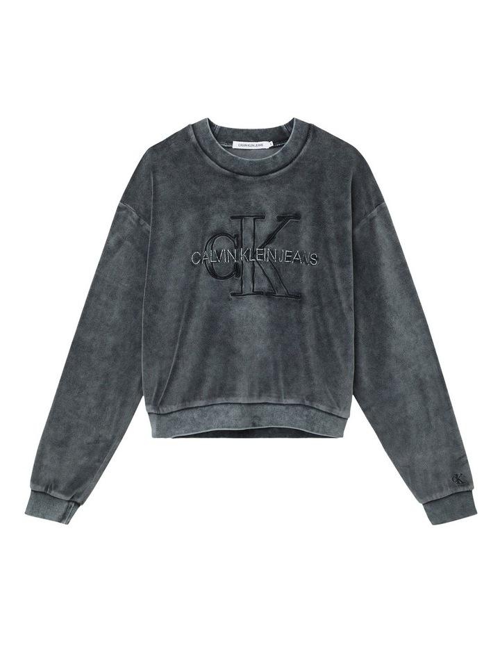 Wash Velvet Sweatshirt image 5