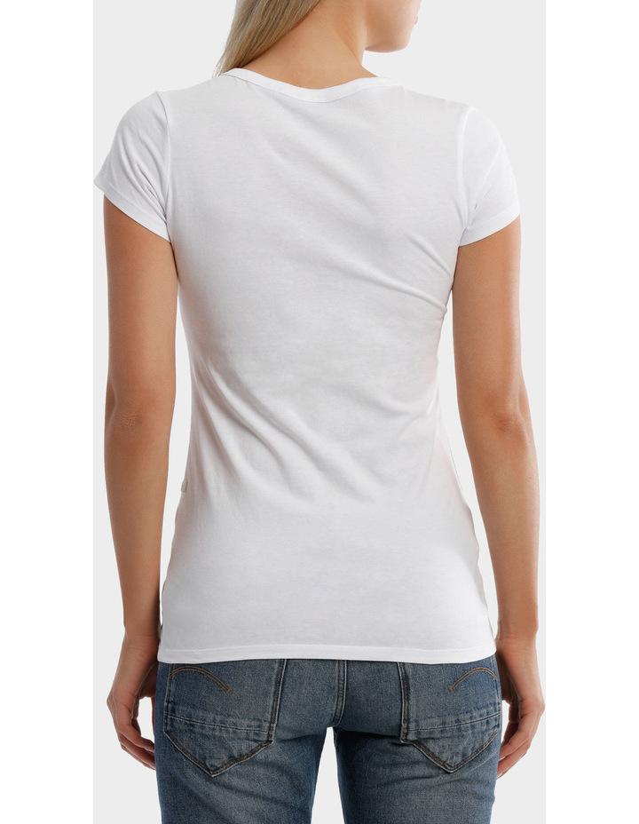 Danarius Short Sleeve Slim V-neck T-Shirt image 3