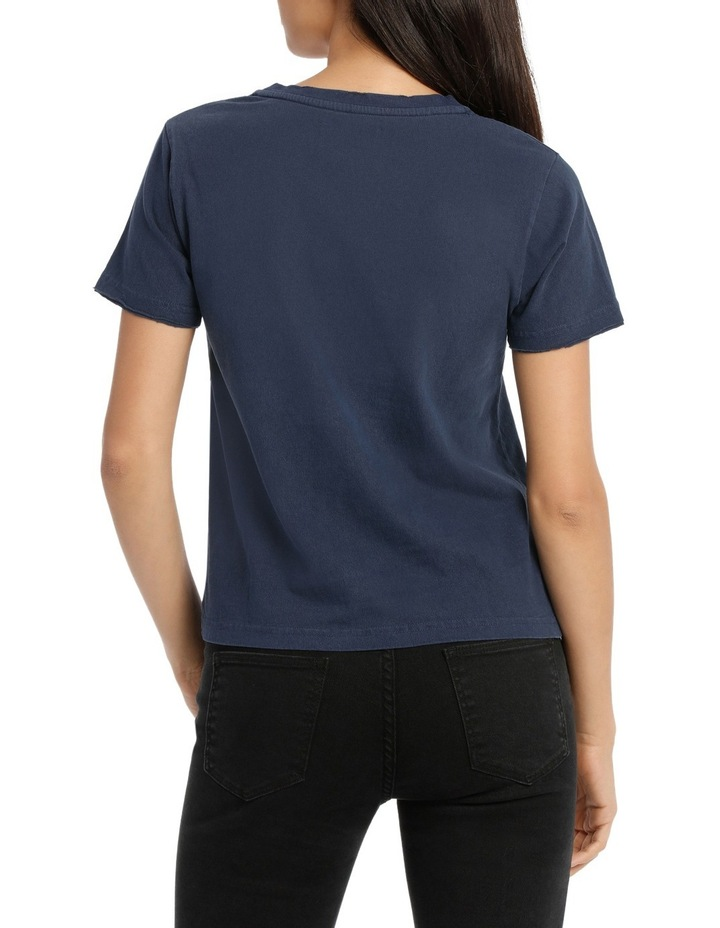 Uptown Tee Faded Navy image 3