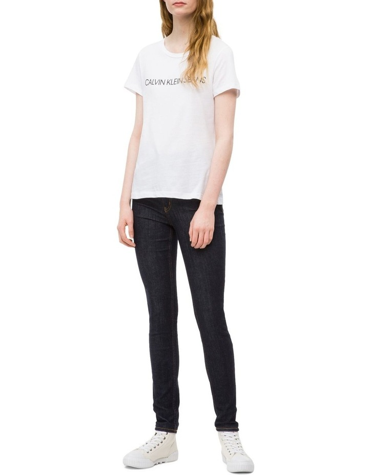 Calvin Klein Jeans Institutional Logo Slim Fit Tee image 1