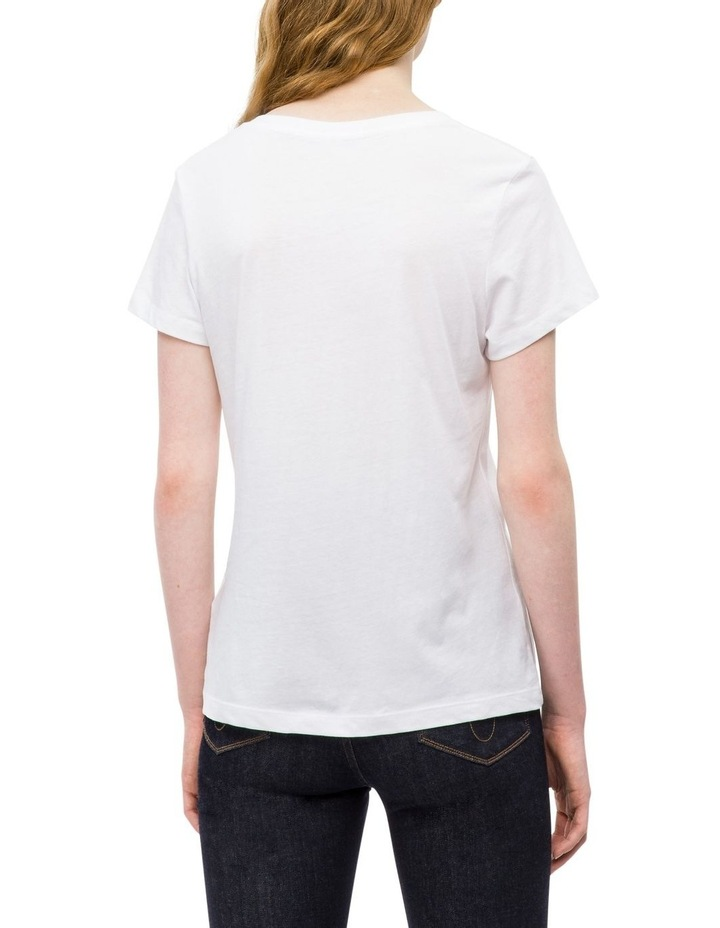 Calvin Klein Jeans Institutional Logo Slim Fit Tee image 2