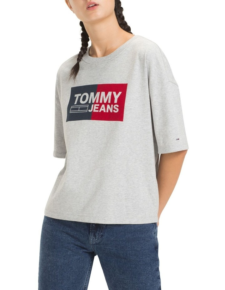 Tommy Jeans Women's Boxy Logo Tee image 1