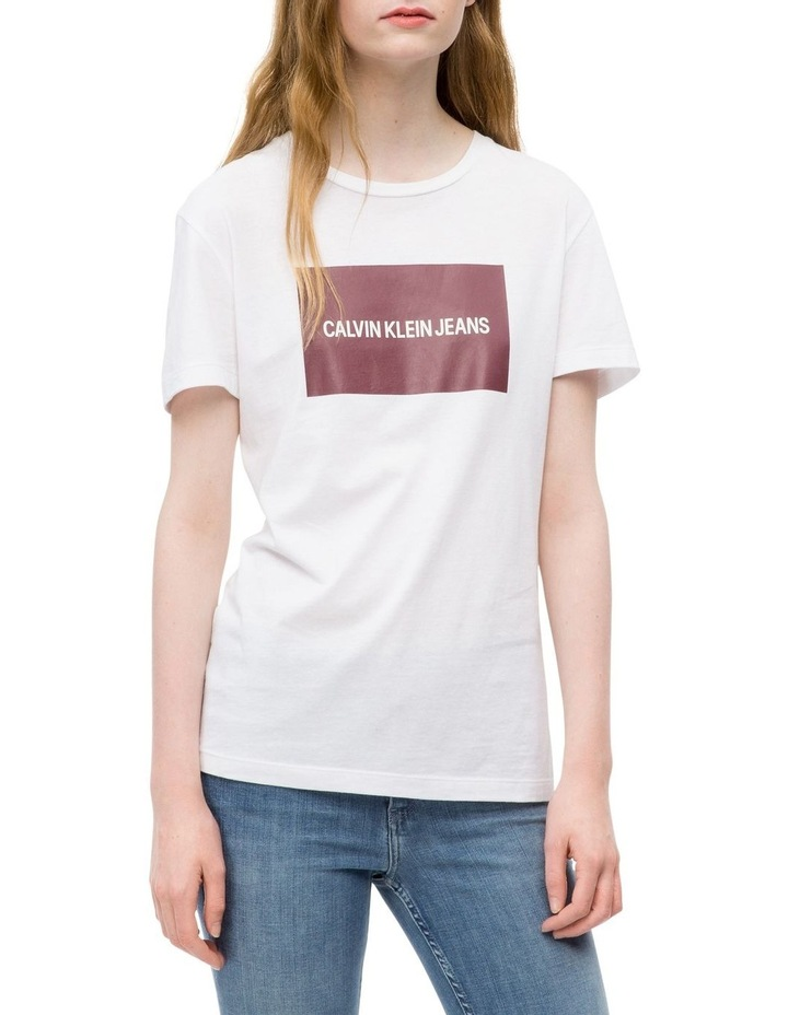 INSTITUTIONAL BOX SLIM FIT TEE image 1