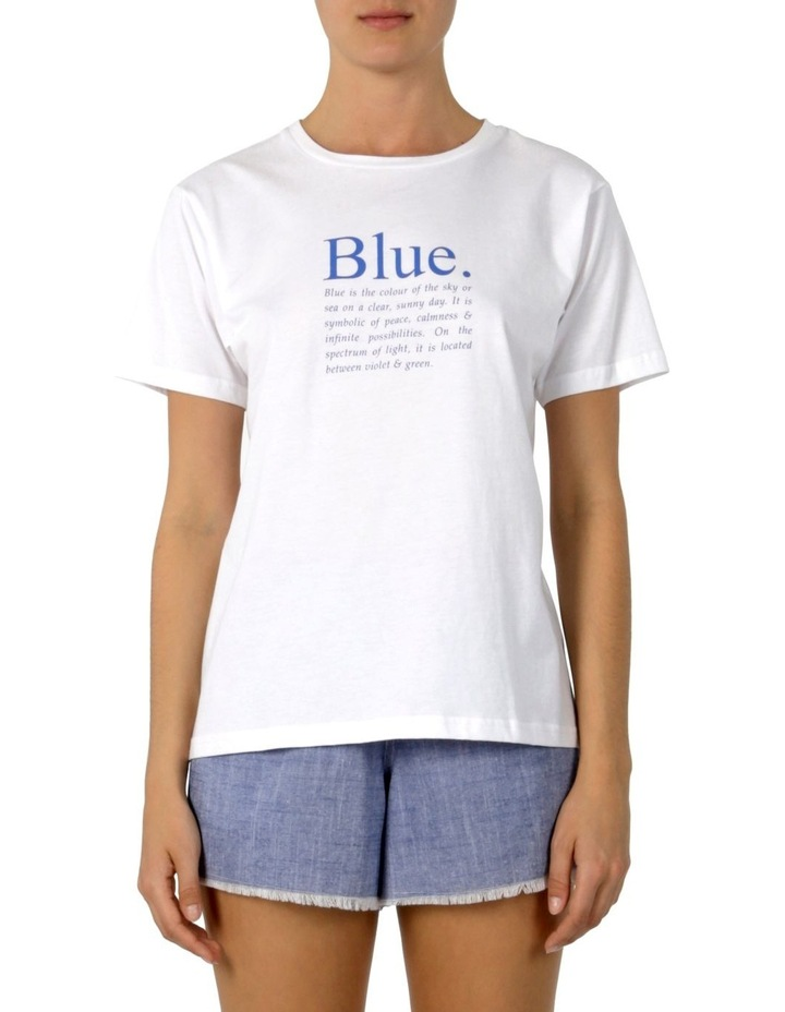 Colour Slogan T-Shirt image 1