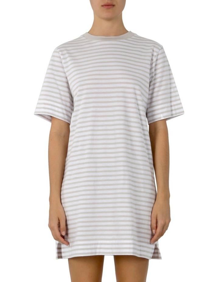 Carmen Washed Stripe Tee Dress image 1