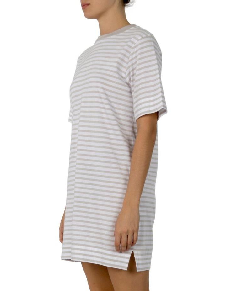 Carmen Washed Stripe Tee Dress image 2