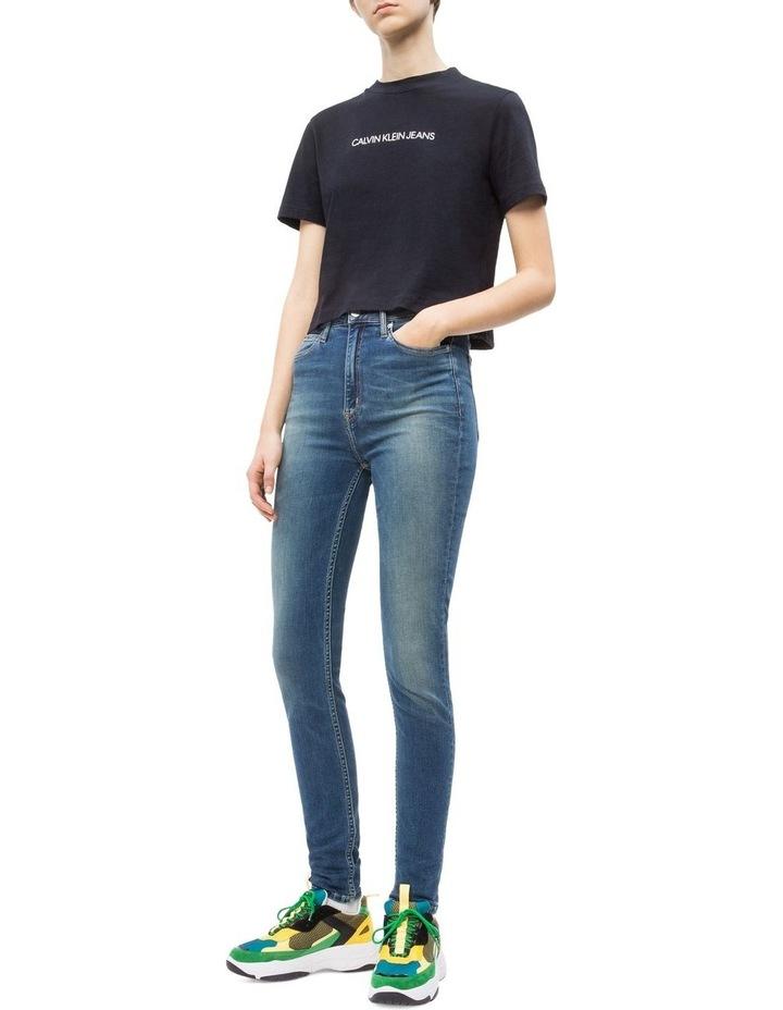 9882e0b5 Calvin Klein Jeans | SHRUNKEN INSTITUTIONAL CROP SS | MYER