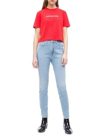c9096fb5733e Calvin Klein JeansShrunken Institutional Crop Short Sleeve. Calvin Klein  Jeans Shrunken Institutional Crop Short Sleeve. price
