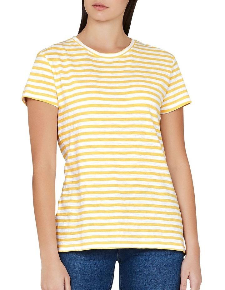 HAILEY Gold White Stripe image 1