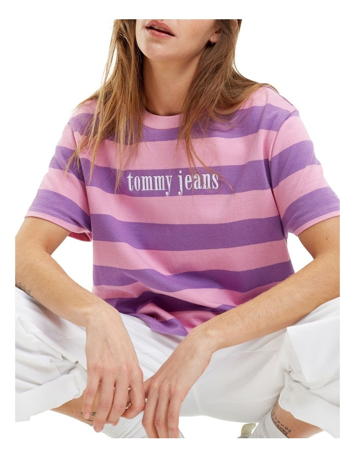 Color Stripe Tee image 1